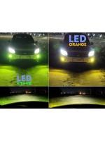 Двухцветные светодиодные лампы в противотуманки