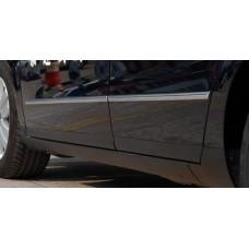 Хром молдинги дверей и бампера для Volkswagen Jetta / Passat B6 / B7 / CC