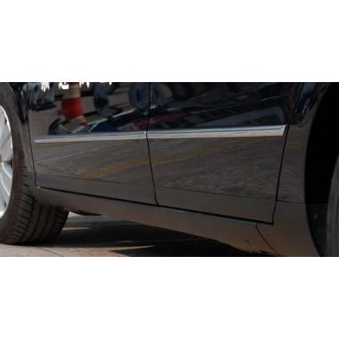 Хром молдинги дверей и бампера для Фольксваген Jetta / Passat B6 / B7 / CC