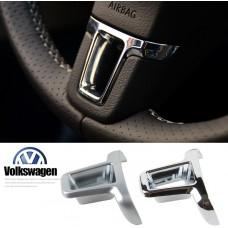 Хром вставка в руль Volkswagen Golf / Jetta / Passat B7 / CC / Tiguan