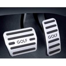 Накладки на педали для Volkswagen Golf 7
