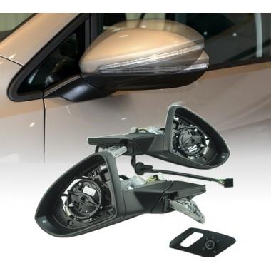 Боковые зеркала со складыванием для Volkswagen Golf 7