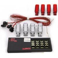 LED подсветка ECP пространства для ног Фольксваген Golf / Jetta / Passat B6 / B7 / CC / Tiguan
