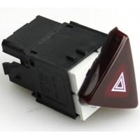 Кнопка аварийки темно ликерного цвета для Passat B6