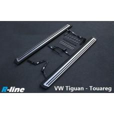 Пороги R-line для Volkswagen Tiguan / Touareg 2011-2015