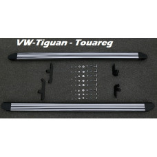 Пороги для Volkswagen Tiguan / Touareg 2002-2015