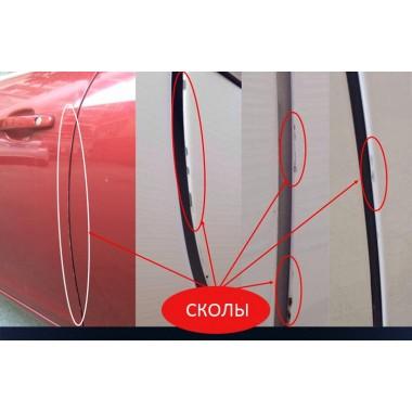 Защита кромки дверей от сколов при открытии