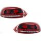 Задняя LED оптика для Volkswagen Scirocco