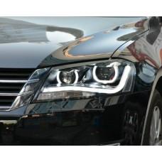 Передняя LED оптика в стиле Audi R8 для Volkswagen Passat B7