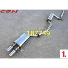 Выхлоп для Volkswagen Jetta 6 (12 видов)