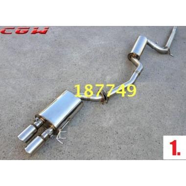 Выхлоп для Фольксваген Jetta 6 (12 видов)
