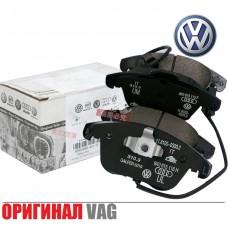 Тормозные колодки VAG (ОРИГИНАЛ) для Volkswagen