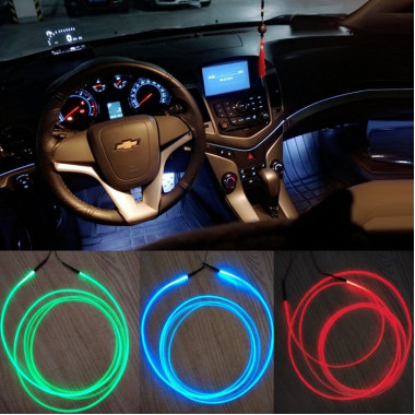 Атмосферная LED подсветка салона