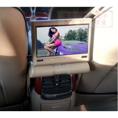 Мультимедийный монитор + DVD+USB с креплением на подлокотник