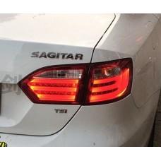 Задняя LED оптика в стиле BMW для Фольксваген Jetta 6