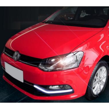 Дневные ходовые огни DRL для Volkswagen Polo 2014-2015