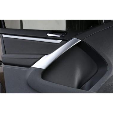 Декоративные накладки на внутренние ручки дверей Volkswagen Tiguan