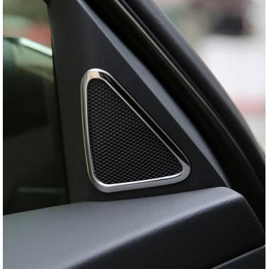 Декоративные накладки на передние твиттеры (пищалки) дверей Volkswagen Tiguan
