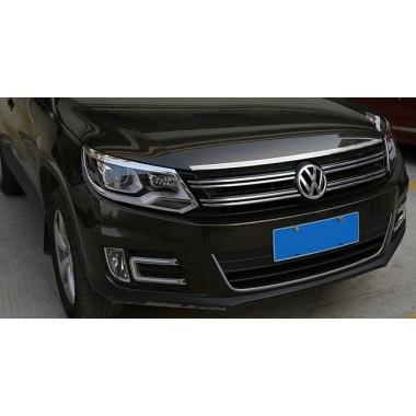 Декоративная накладка на капот Volkswagen Tiguan