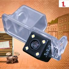 Камера заднего вида в подсветку номера для нештатных магнитол Volkswagen (4 модели)