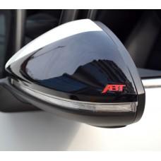 Декоративные накладки ABT на боковые зеркала Volkswagen Golf 7