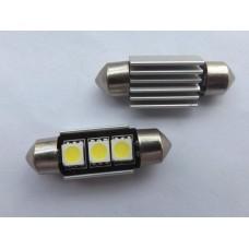 LED лампы для подсветки номерного знака, макияжных зеркал. багажника Volkswagen (с обманкой)