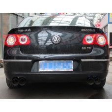 Раздвоенный выхлоп MRG для Volkswagen Passat B6 / B7