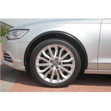 Декоративные молдинги колесных арок для Audi A6 C7