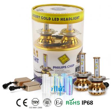 LED лампы PHILIPS в ближний свет