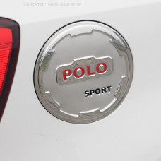 Накладка на лючок бензобака для Volkswagen Polo