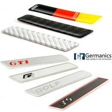 Декоративные накладки на ручки регулировки высоты сидений Golf / Jetta / Passat / Touran
