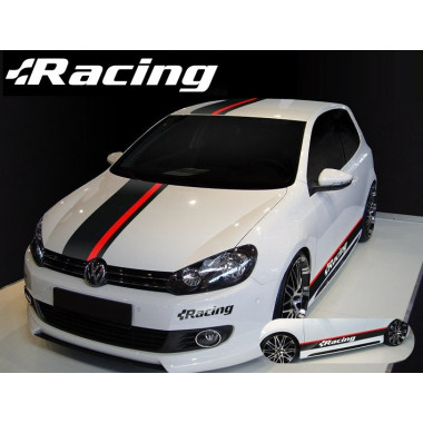Декоративные стикеры Volkswagen Motorsport для Polo / Golf / Jetta