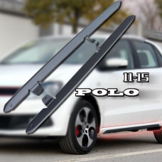 Защитные молдинги GTI на пороги для Volkswagen Polo 2011-2015