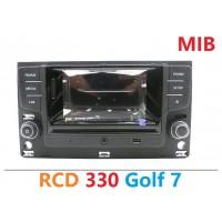 Штатная магнитола RCD 330 для Фольксваген Golf 7