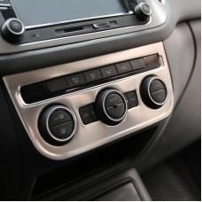 Алюминиевая накладка  на блок климат контроля Volkswagen Tiguan