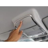 Хром накладка на потолочную консоль освещения Фольксваген Golf / Jetta / Passat