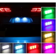 LED подсветка номера 7 режимов с обманкой CAN для Volkswagen