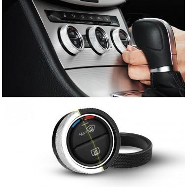 Алюминиевые кольца на ручки климат контроля для Volkswagen Golf / Jetta / Passat