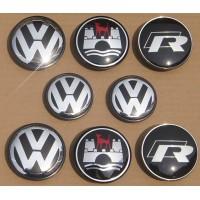 Центральные колпачки для дисков Volkswagen