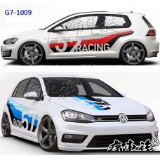 Виниловые комплекты стильных стикеров для Volkswagen Golf 7