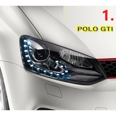 Передняя оптика GTI для Фольксваген Polo 2011-2013