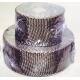 Защитная несгораемая изоляция для горячей части турбины или выхлопа
