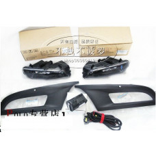 Штатный комплект противотуманных фар GTI для Volkswagen Polo 2011-2013