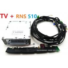 Штатный ТВ тюнер для RNS 510