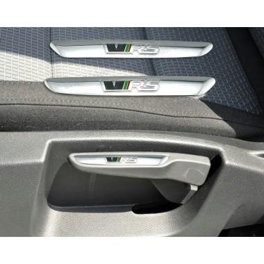RS накладки на ручки регулировки сидений для Skoda Octavia