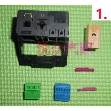 Разъемы, гнезда для штатной проводки Audi / Volkswagen / Skoda / Seat