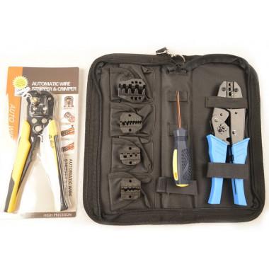 Набор обжимного инструмента для работы с пинами и проводкой