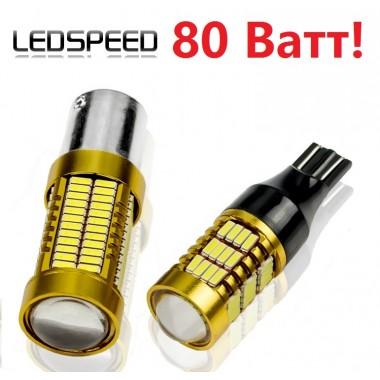 Мощная LED лампа LEDSPEED в фонарь заднего хода для Фольксваген