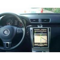 Android магнитола 10,4 дюйма в стиле Tesla для Volkswagen Passat B6 / B7 / CC