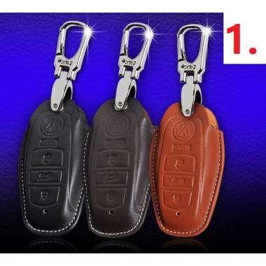 Кожаныe чехлы для ключа Фольксваген Touareg (6 моделей)
